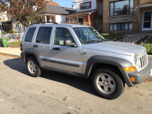 2006 Jeep Liberty Hatchback with only 97,000kms