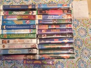 VHS Movies, assorted and used