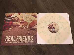 Real Friends Record Vinyl Put Yourself Back Together Rare 1st P