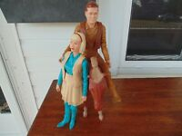 1960's JOHNY WEST 12 INCH FIGURER'S WITH HORSE