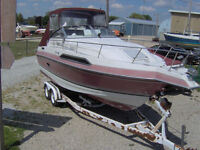 Must sell boat and tandem axle trailer.