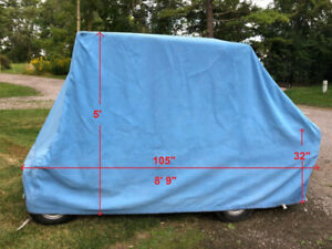 Canvas Golf Cart Cover