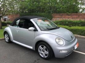 2004 Volkswagen Beetle 1.6 Convertable