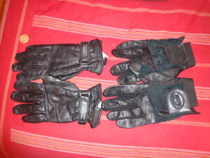 MEN'S AND LADIES MOTORCYCLE GLOVES