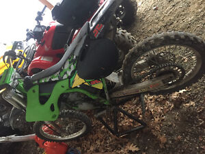 KX125 need gone baby on the way!
