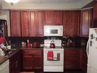 Clean home with large eat in kitchen