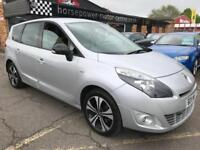 2011 Renault Scenic 1.9 dCi Dynamique TomTom 5dr Diesel silver Manual