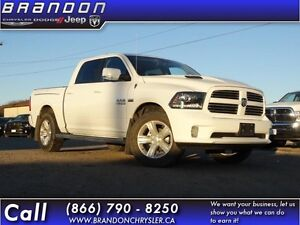 2014 Ram 1500 Sport- Leather Seats, Heated Steering Wheel,GPS,Uc