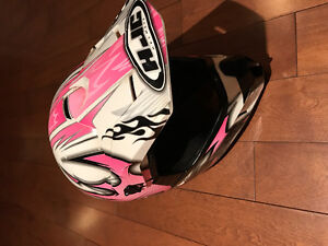Girls helmet size small immaculate condition