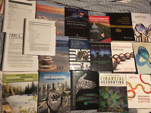 Business Accounting Textbook -1st, 2nd, 3rd, 4th, MBA