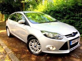 **IMMACULATE** 2012 FORD FOCUS TITANIUM 2.0 TDCI AUTOMATIC SILVER 5 DOOR HATCH