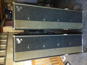 2 Column speakers - Guild - vintage