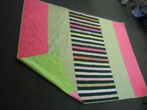 Handmade Quilt Green