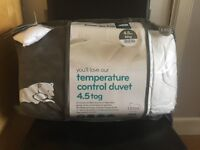 Snug Temperature Control Duvet - 4.5 tog (king size)