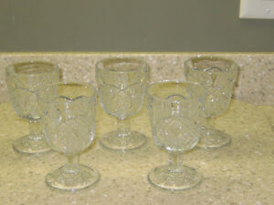 EARLY AMERICAN PRESSED GLASS (EAPG)