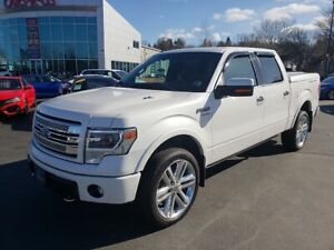 2013 Ford F-150 Limited / 6.2L / Leather / Navigation / Loaded