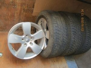 20 in. Dodge truck wheels and tires