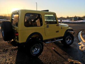 1982 Jeep CJ7. 350 chev. Auto