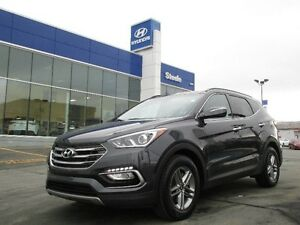 2017 Hyundai SANTA FE SE AWD Leather Sunroof backup camera