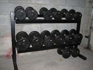 YorK SteeL Professional Dumbells gym weights exercise