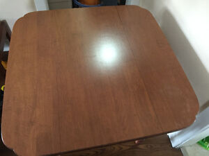 Convertible sofa/rectangle wooden dining table