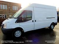 2013 13-REG, FORD TRANSIT LWB, H/ROOF, ONE FLEET OWNER, FULL HISTORY, EURO5