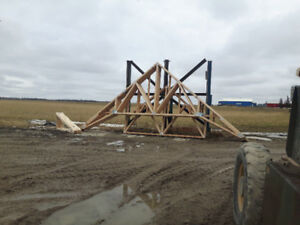 Truss Manufacturing in Ontario!!.!  delivered to your yard!