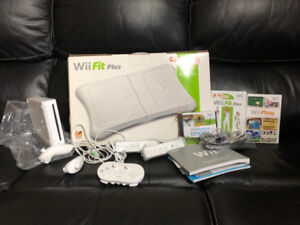 Nintendo Wii Console and Wii Fit Plus