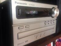 Panasonic Mini HiFi - USB - Bluetooth - MINT