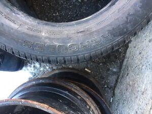 "15"" steel rims and snow tires $250 OBO Cambridge Kitchener Area image 4"