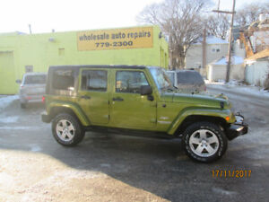 2010 Jeep Wrangler NEW SAFETY AND WARRANTY SUV, Crossover