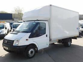 FORD TRANSIT 2.2TDCI 125PS T350L LUTON & TAIL LIFT F/S/H 85K VAN FINANCE