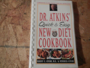 Dr Atkins diet books Peterborough Peterborough Area image 1