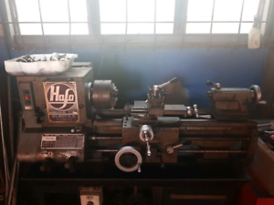 Lathe with Tools