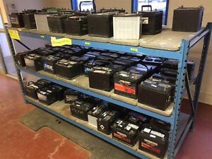 Used Automotive and Light Truck Batteries