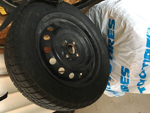 Winter tires and rims for Yaris