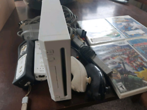 Wii System with Games
