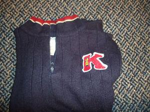 Boys Size 5 Navy Thick Knit Sweater by ***Kridkert Elite*** Kingston Kingston Area image 3