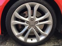 2010 genuine Audi s3 phase 2 speedline alloys