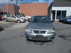 2003 Nissan Sentra Sedan XE 160000 km, Safety and E test