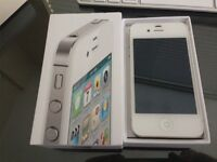 APPLE IPHONE 4S WHITE 16GB OPEN TO ANY NETWORK!