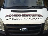24/7 recovery / transport service