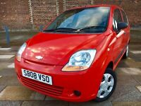 2008 CHEVROLET MATIZ + ELECTRIC WINDOWS + STEREO + 30 POUNDS A YEAR TAX + JUNE MOT .
