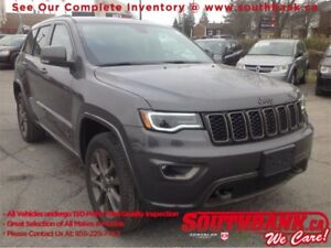 2017 Jeep Grand Cherokee Limited 75th Anniversary75th Anniversar