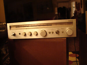 HITACHI VINTAGE SR-6010 CLASS G STEREO AMPLIFIER/RECEIVER / WORK