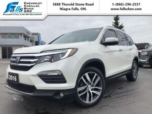 2016 Honda Pilot Touring  NAV,DVD,SUNROOF,LEATHER,AWD