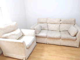 FREE Sofa set 3+1 with fire label