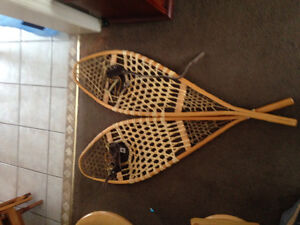 Canadian made Huron snowshoes