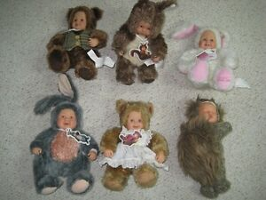 6 Anne Geddes Dolls