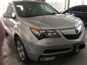 Acura MDX 2012 AWD -TECH pkg with DVD Player Heated Seats